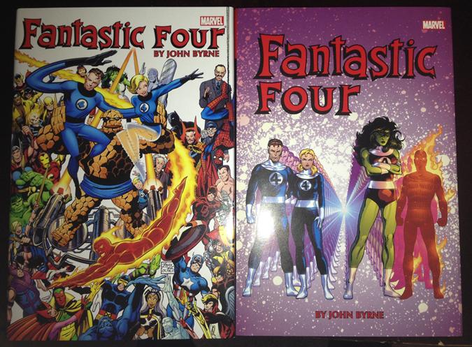 John Byrne's run - collected in John Byrne's Fantastic Four omnibuses 1-2