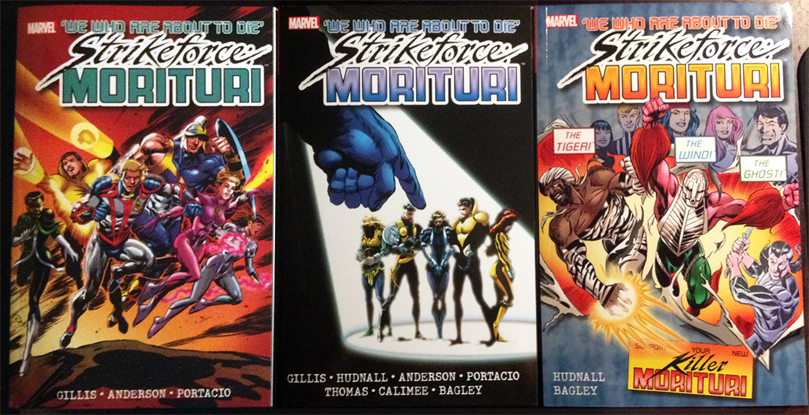 Most conveniently collected in Strikeforce: Morituri volumes 1-3