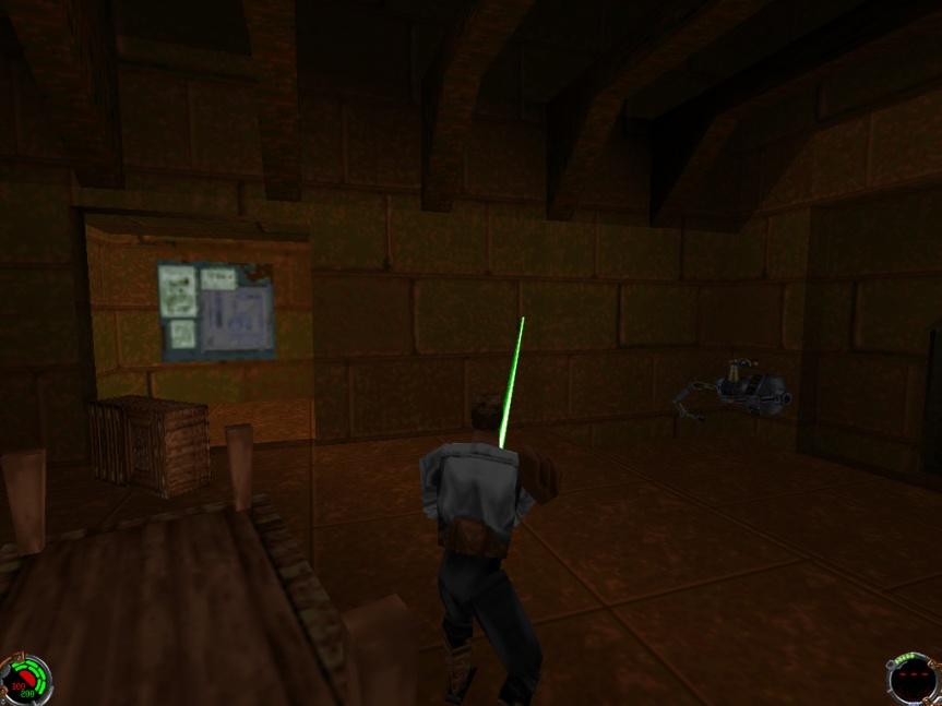 Now Playing: Star Wars – Jedi Knight – Dark Forces 2 and Star Wars – Jedi Knight – Mysteries of the Sith(1998)