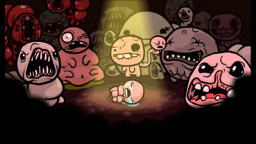 Now Playing: Binding of Isaac – Rebirth (2014)