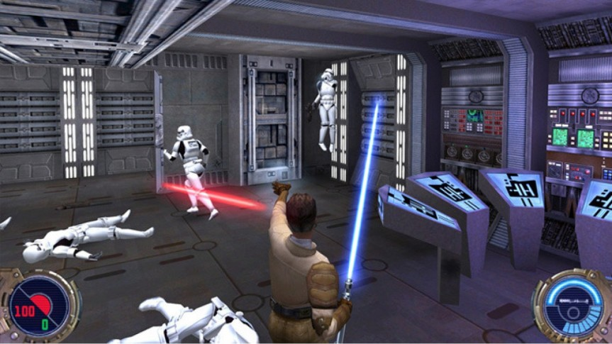 Now Playing: Star Wars – Jedi Knight 2 – Jedi Outcast (2002) and Star Wars – Jedi Knight – Jedi Academy (2003)