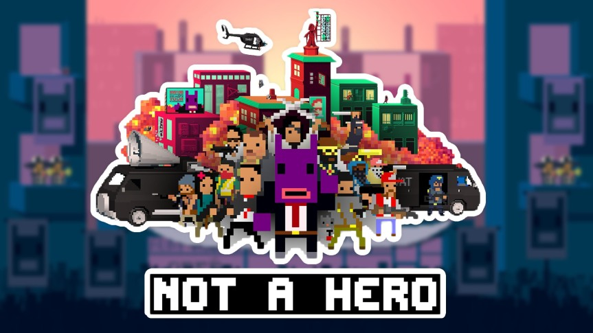 Now Playing: Not A Hero (2015)